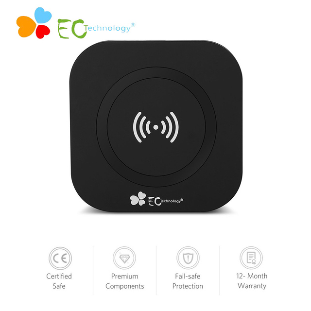 Ultra Slim qi wireless charger pad for Phone Wireless Charger Pad Charging wireless charger receiver  For Cell Phones