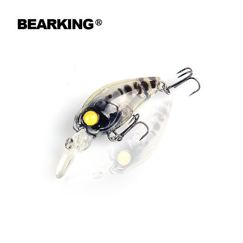 Bearking 2017 Hot model promotion A+ professional fishing lures,crank 35mm/3.7g,dive 2.5m 15 different colors fr selection bearking 5pcs lot professional fishing lure crank different colors each lot crank 65mm