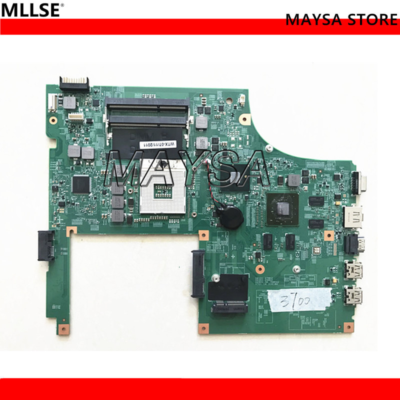 High Quality 0K84TT K84TT 48.4RU06.011 Motherboard fit for Dell Vostro 3700 main board, 100% working
