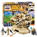 Bela 10371 Star Wars AAT tankbuilding ladrillos bloques Juguetes para niños Juego Arma Arma Modelo Compatible con Decool Lepin