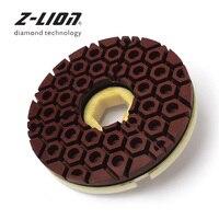 Z LION 6 Inch Diamond Edge Polishing Pad Snail Lock Abrasive Disc 150mm Edge Grinding Wheel For Marble Granite Polishing wheel