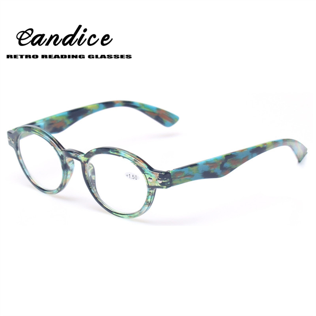 Reading Glasses Great Value Quality Men and Women Readers With Flower Design Classic Retro vintage Style Oval Eyewears