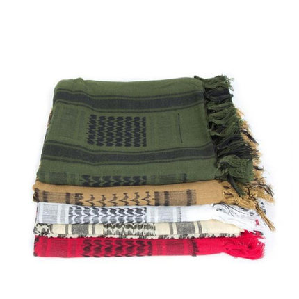Coolcheer Scarf Thick Shemagh Military Tactical Winter Hijab Arabic Muslim 100%Cotton