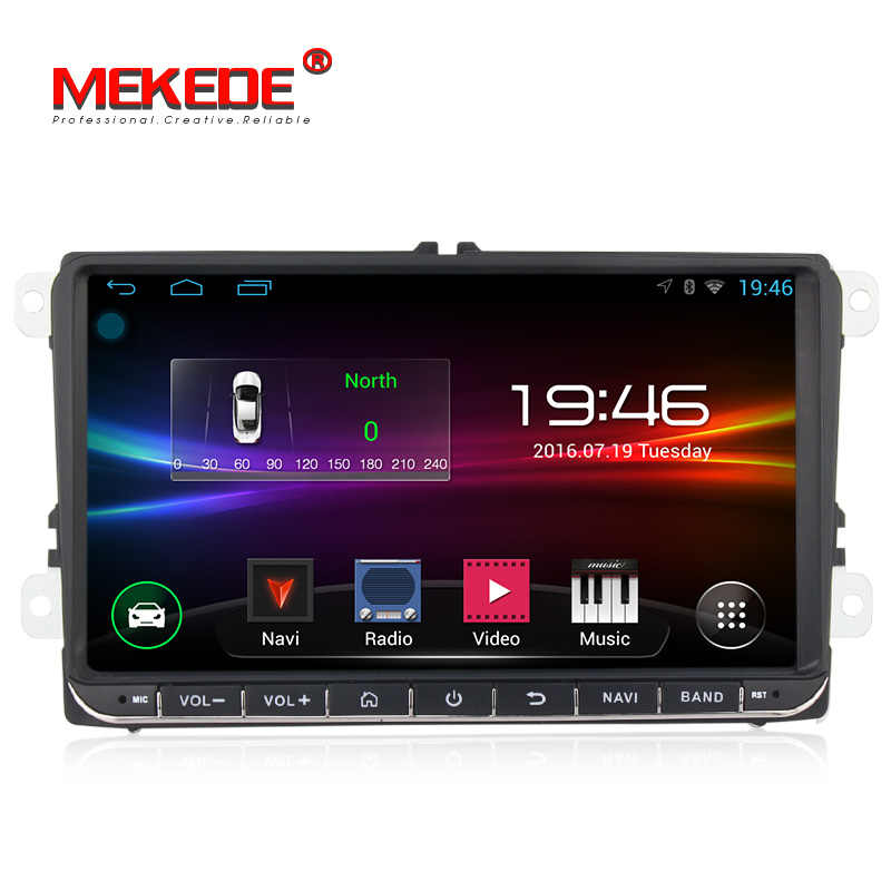 9 polegada Android car multimedia player para Volkswagen polo/GOLF/PASSAT/BORA/TIGUAN/MAGOTAN/ skoda Fabia/Yeti/Superb/Roomster/Seat