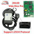 Newest for Volvo Vida Dice 2014D Vida Dice Pro+ Full Chip OBD OBD2 For Volvo Diagnostic Tool Supports J2534 Protocol WIN7