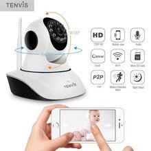 TENVIS T8810 720 P HD Wi-Fi Ip-камера Pan/Tilt Инфракрасного Ночного Видения Камеры Наблюдения Беспроводной Onvif P2P Cam для Охраны Дома