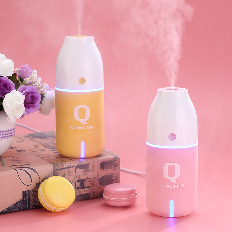 2018 Hot 150ML Bottle USB Mini Humidifier Purifier Ultrasonic Mist Maker Kbaybo Air Difusor Ultrasonic Cute Humificador Fogger