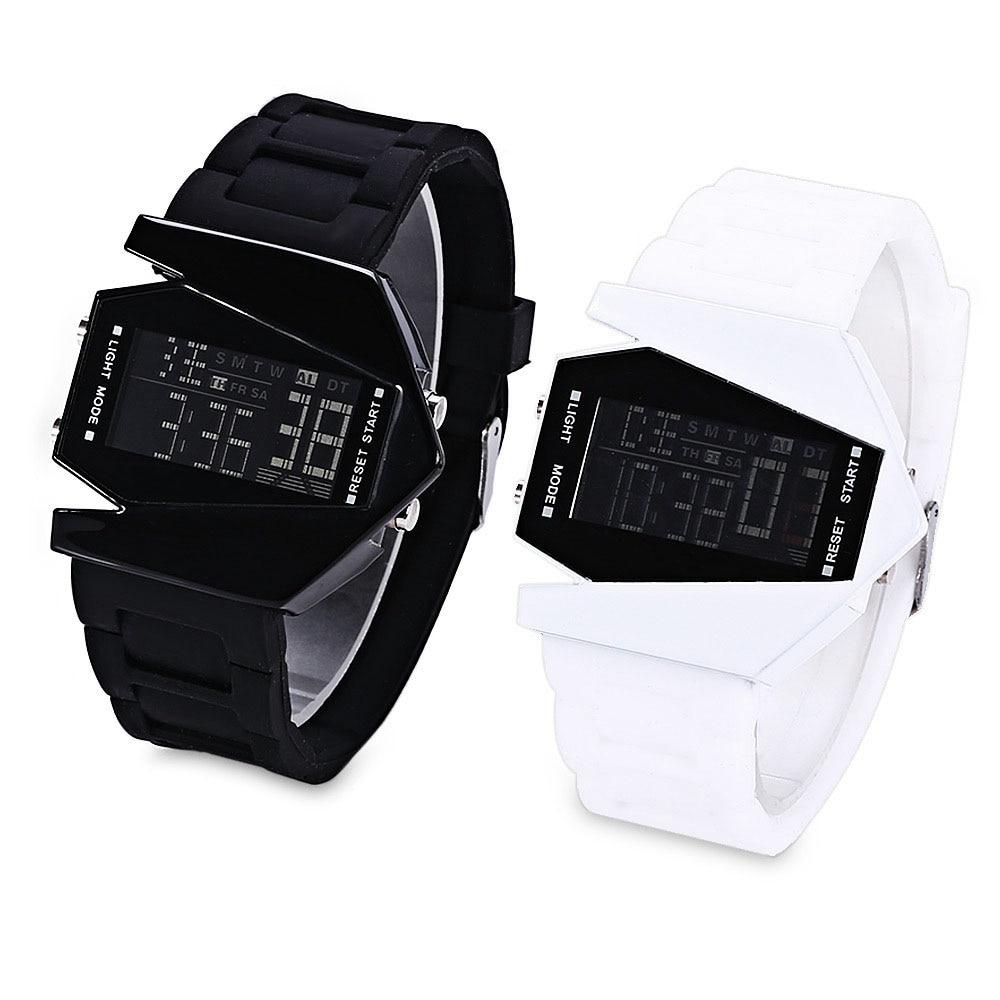 43c4bb0bbfd Cronômetro Alarme Digital Back Light LED Relógio de luxo Homens Mulheres  Crianças Sports Relógio De Pulso Relógio relogio feminino masculino 8O72 em  ...