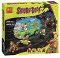 Бела Scooby Doo Mystery Bus de Maquina Bloque de Construccion Minifiguras Cumpleanos Juguetes Совместимость Кон P029