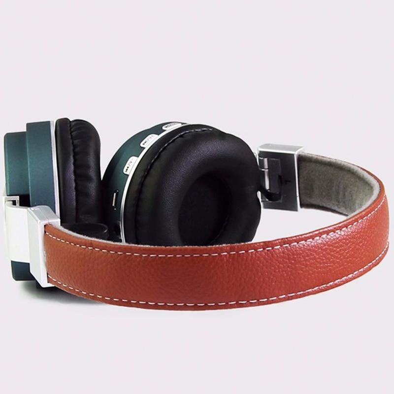 Véritable Double Casque Bluetooth Casque En Cuir Élégant Casque En - Audio et vidéo portable - Photo 3