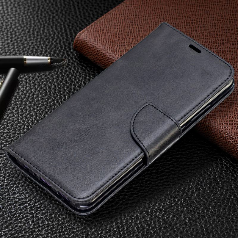 Simple Business Soft Lambskin Phone Bag Case For Frame <font><b>Huawei</b></font> Honor 10i 8S 8A 8C 8X 7X 6C Y9 Y5 <font><b>2017</b></font> Y6 2018 <font><b>Y7</b></font> Prime 2019 DP07F image