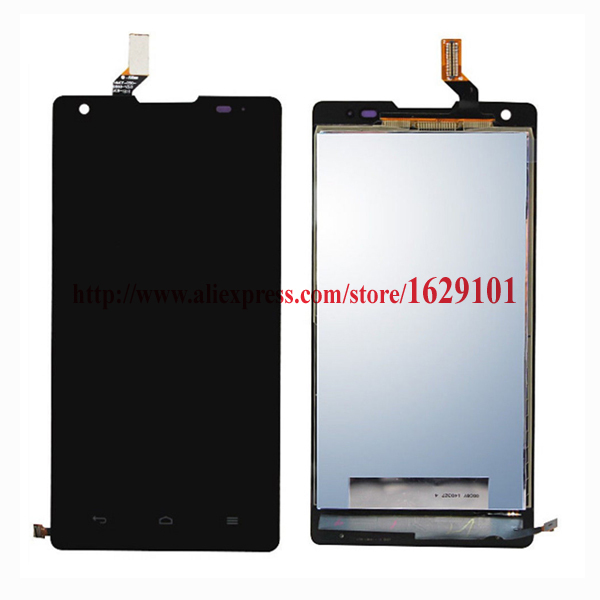 TOP Quality Black LCD Display With Touch Screen Digitizer Assembly For Huawei Ascend G700 Phone Replacement Repair Parts