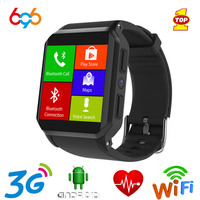 696 Smart Watch KW06 Heart Rate Monitor Bluetooth Alarm Clock GPS Watch Android Mobile Phone SIM Sports Watch