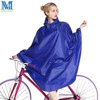 ファッションバイク雨ポンチョ女
