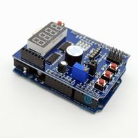 Adeept Nuevo Nuevo Multifuncional Raspberry Pi Tarjeta de Expansión Shield para Arduino AVR ARM DSP PIC Freeshipping auriculares