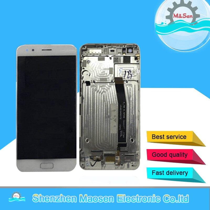 M & Sen Pour 5.5 ASUS ZenFone 4 ZE554KL Z01KD LCD écran affichage + écran tactile digitizer avec cadre pour ZenFone 4 ZE554KL Z01KD