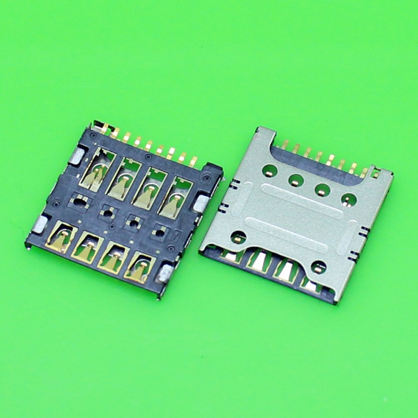 20pcs/lot Brand New for Huawei Ascend G630 SIM Card Reader Connector Slot Holder with Socket Spare Parts
