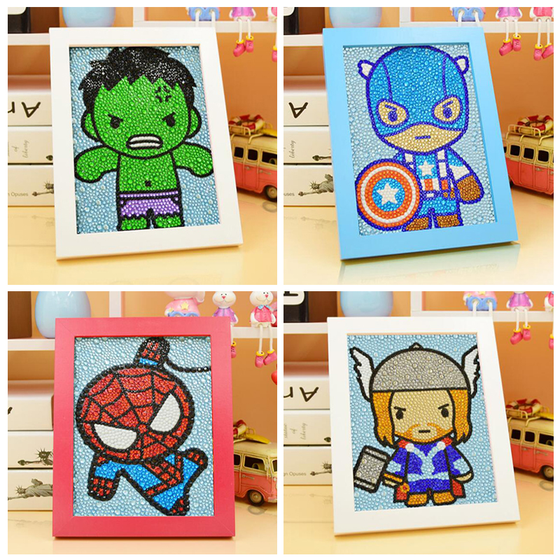 Hulk 5D Diy diamond painting Cartoon The Avengers Hero 3 Sizes Shining Rhinestone Diamonds Painting 15x20cm Children HandmadeHulk 5D Diy diamond painting Cartoon The Avengers Hero 3 Sizes Shining Rhinestone Diamonds Painting 15x20cm Children Handmade