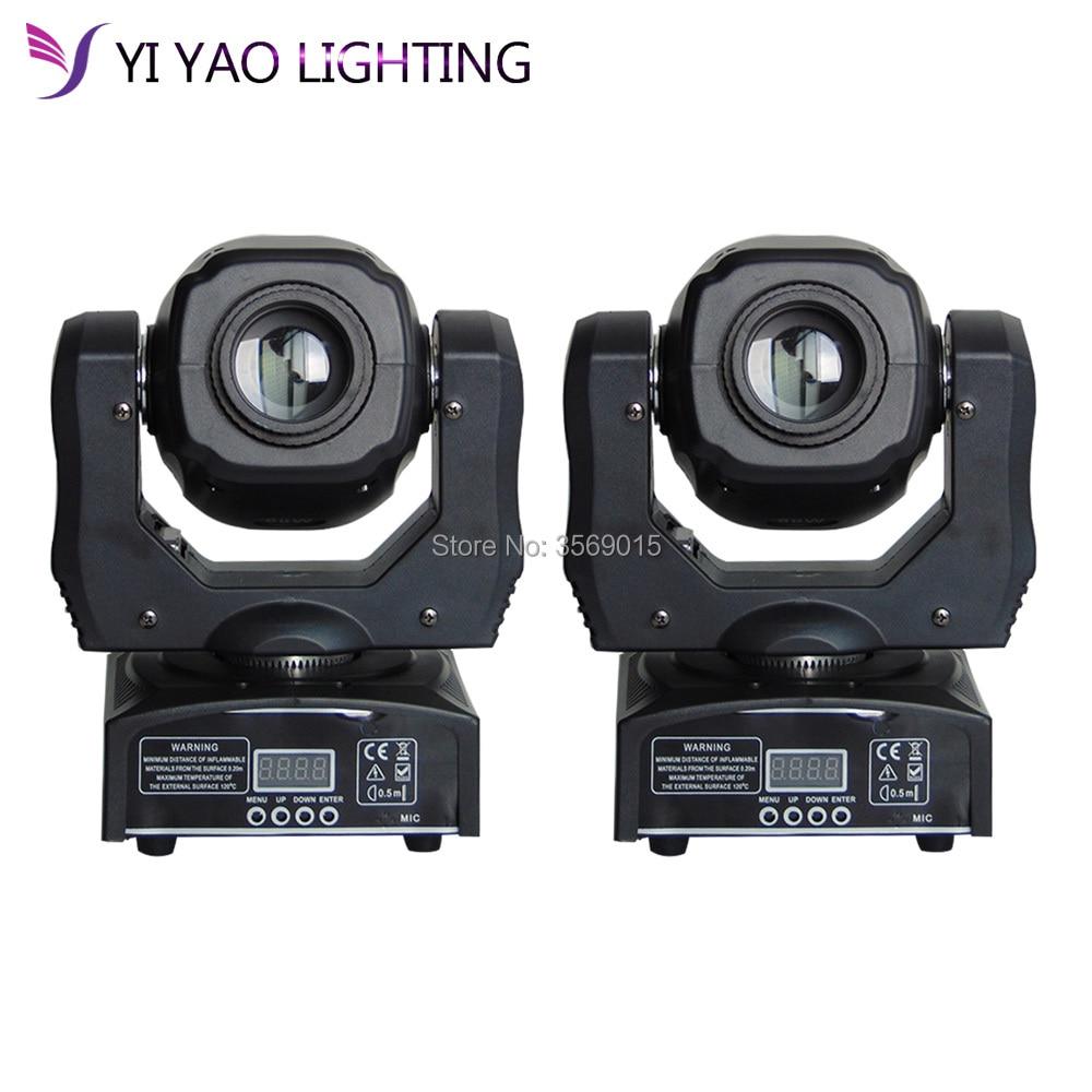 Здесь можно купить  2pcs/lot super bright 60W Spot Moving Head Light 60 Watt LED gobos for dj disco  Свет и освещение