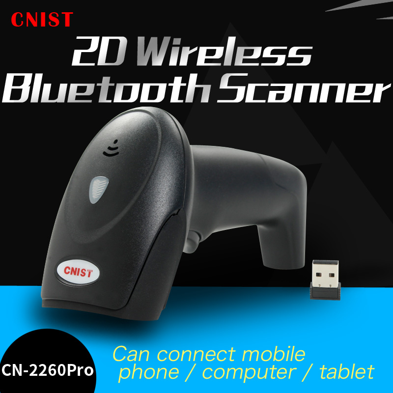 CNIST-2260Pro Bluetooth wireless 2D scanning gun WeChat Alipay screen barcode gun supermarket cash register gunCNIST-2260Pro Bluetooth wireless 2D scanning gun WeChat Alipay screen barcode gun supermarket cash register gun