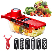 Meijuner Vegetable Cutter Slicer Chopper Fruit  Blades Grater Peeler Potato Tools Kitchen Accessories