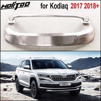 New arrival for Skoda Kodiaq 304 stainless steel skid plate/bumper protector guard,2017 2018+.front & rear.necessary protection.