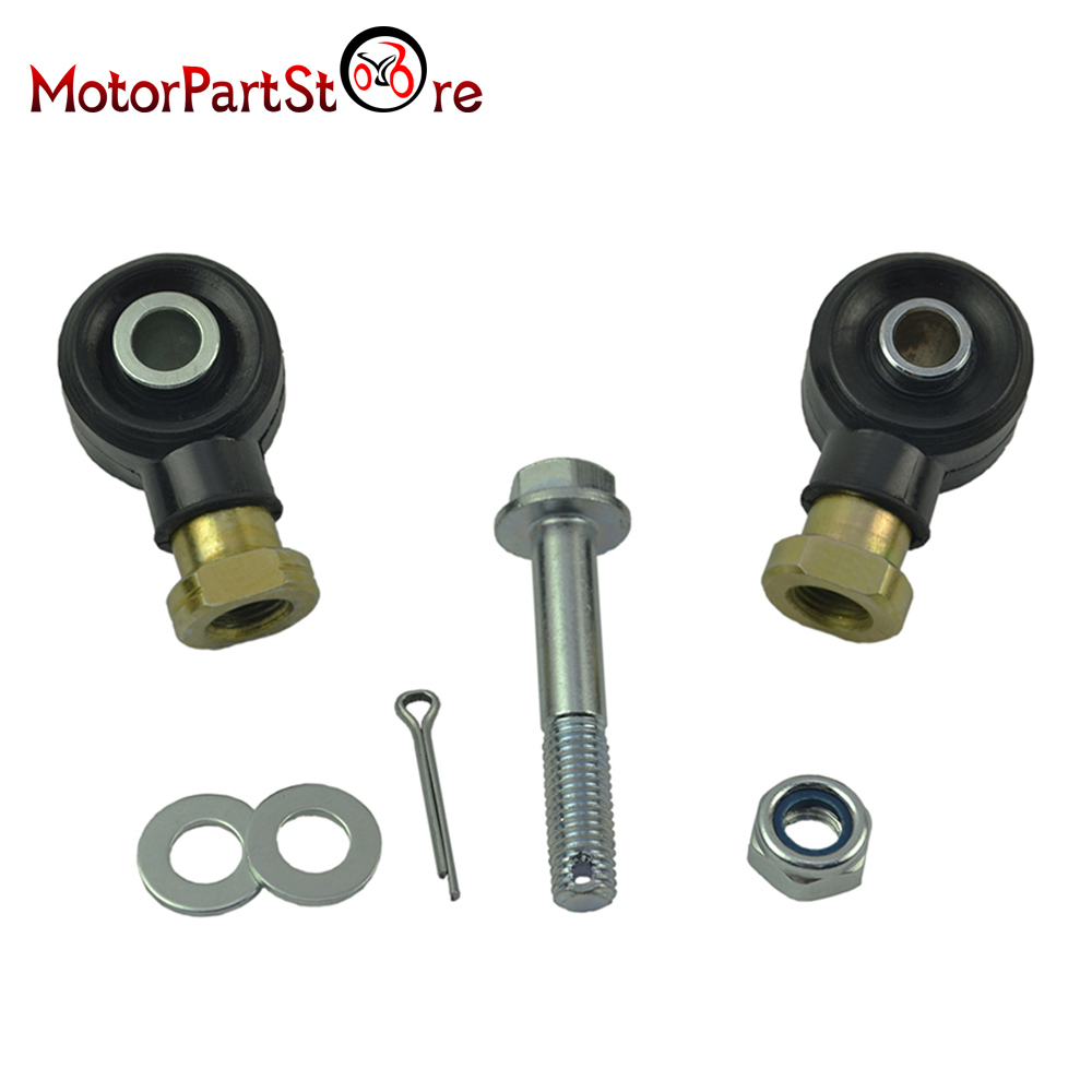 1 set right left tie rod end kit for polaris sportsman 500 ho 2006 2007 2008 2009 2010 2011 2012 atv quad dirt pit motor bike