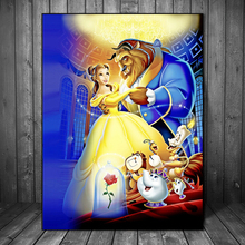 Film Beauty Beast Anime Wallpaper Wall Art Canvas Posters Prints Painting Wall Pictures For Bedroom Modern Home Decor Framework beauty beast movie wallpaper wall art canvas posters prints oil painting wall pictures for bedroom modern home decor accessories