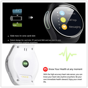 Image 3 - High Tech Smart Watch Connected Wristwatch For Samsung Huawei Xiaomi Android Smartphones Support Sync Call Messager Smartwach