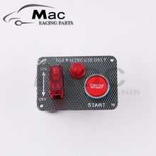 Racing Car Electronics Switch Kit Panel Engine Start Button toggle with accessory