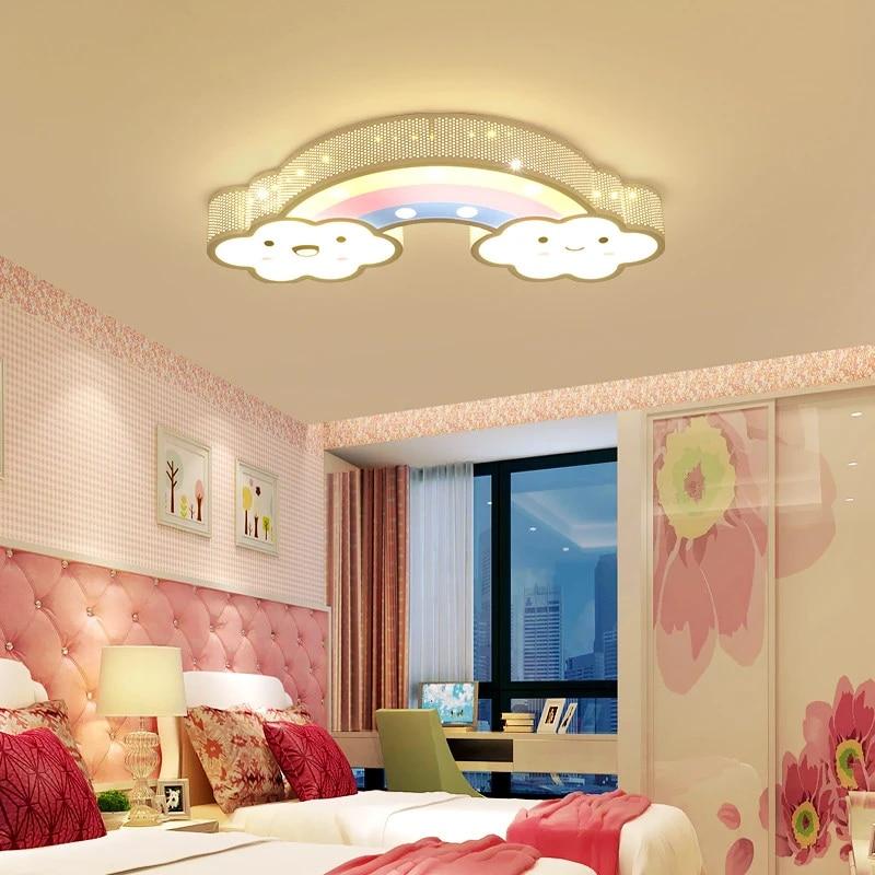 Boys Child Kids Baby Room Lights Lighting Fixtures Cloud Girls Bedroom Lamp Animal Butterfly Cartoon Children Ceiling Lights Ceiling Lights Aliexpress