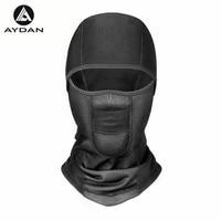 Winter Warm Hat Cycling Waterproof Windproof Face Mask Hat Neck Helmet Beanies Men Women Sports Bicycle Thermal Fleece Ski Hat