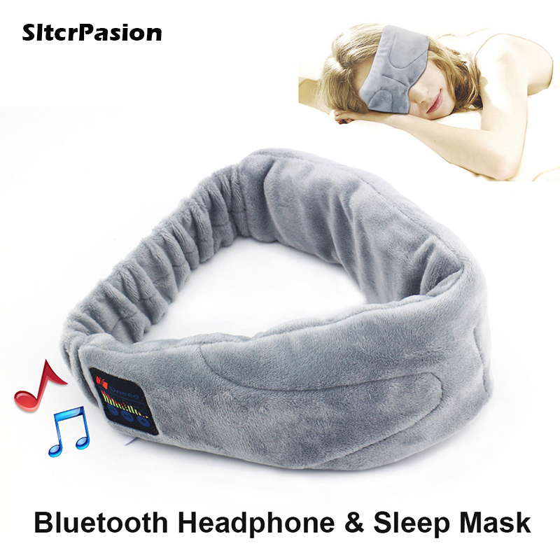 SltcrPasion 2017 New Gift Universal Wireless Stereo <font><b>Bluetooth</b></font> Earphone <font><b>Sleep</b></font> <font><b>Mask</b></font> <font><b>Sleep</b></font> Headphones,Soft Eye <font><b>Mask</b></font> Music Headset