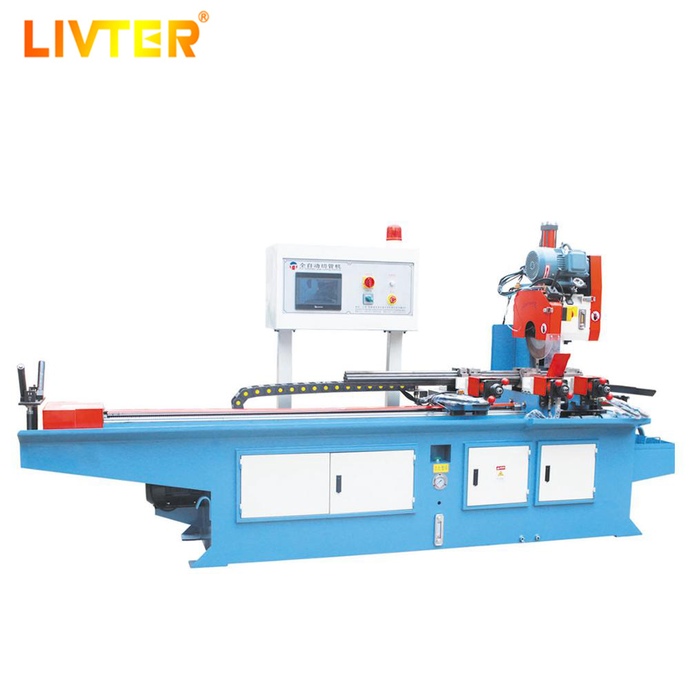 Automatic Cnc Stainless Steel Rod Bar Metal Iron Pipe Cold Saw Cutting Machine For Aluminum Window And Door Grill Making
