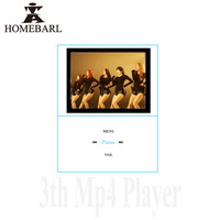 Hot Sale 2015 New Slim Mini Portable 1 8 3th LCD MP4 Player With Micro SD