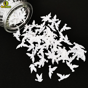 15g White Dove Pigeon Confetti Dove Balloon DIY Wedding Birthday Party Table Centerpiece Decor Peace and Love Decor Party Supply(China)