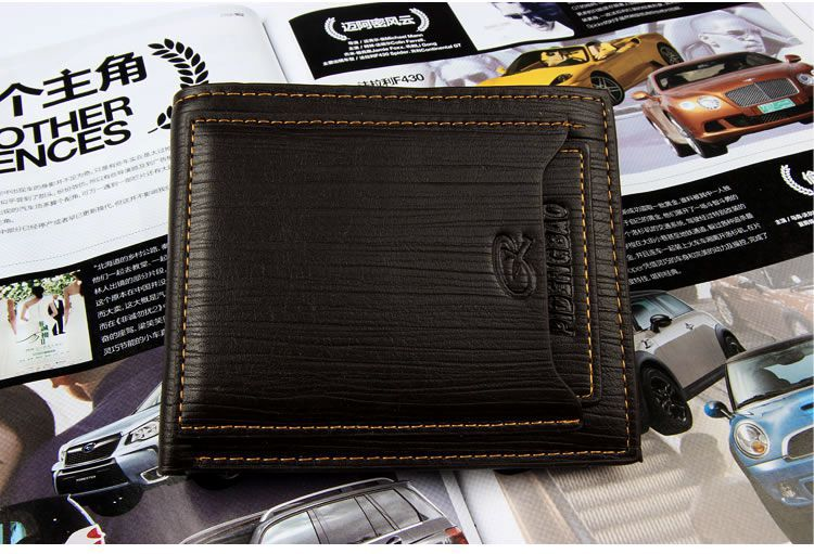 Luxury Men Wallet 9 Card Slots Male 2 Billfold Purses Card Holder Purse Wallets carteira masculina baellerry small mens wallets vintage dull polish short dollar price male cards purse mini leather men wallet carteira masculina