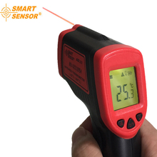купить Laser IR Infrared Thermometer Non-Contact Laser LCD Display  Temperature Meter C/F Selection дешево