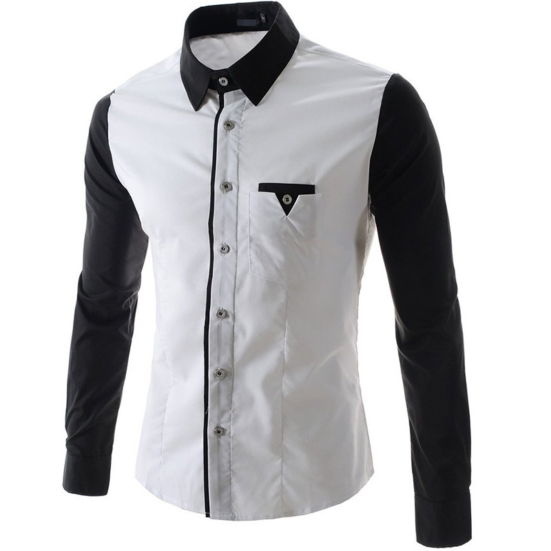 White Shirt With Black Design - Greek T Shirts