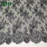 3 m * 1.5 m/paquete de Pestañas Tela de Encaje Blanco Negro Ajuste Del Cordón de Costura DIY Exquisito Bordado Ropa de La Boda Accesorios de vestir ZU062