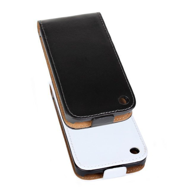 Luxury Genuine Real Leather Case Flip Cover Mobile Phone Accessories Bag Retro Vertical For Apple IPHONE 3 3GS PS