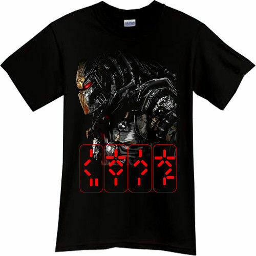 Predator Horror Thriller Movie Black T-Shirt Tshirt Tee Size S M L Xl 2Xl 3Xl US image