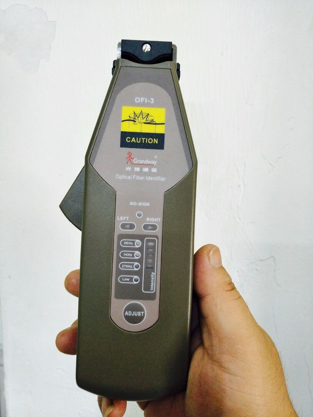 OFI 3 Grandway High Performance Optical Fiber Identifier Live Fiber Optical Identifier 900 1650nm
