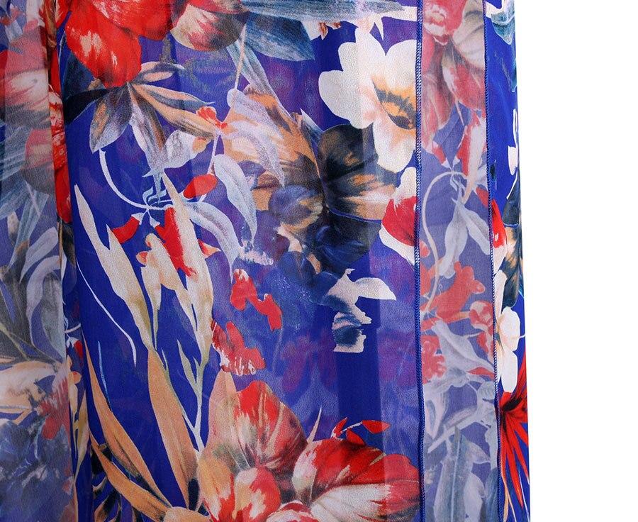 Discounted Sommerkleid Frauen Blumenstrandkleid Blume Langes Kleid - Damenbekleidung - Foto 6