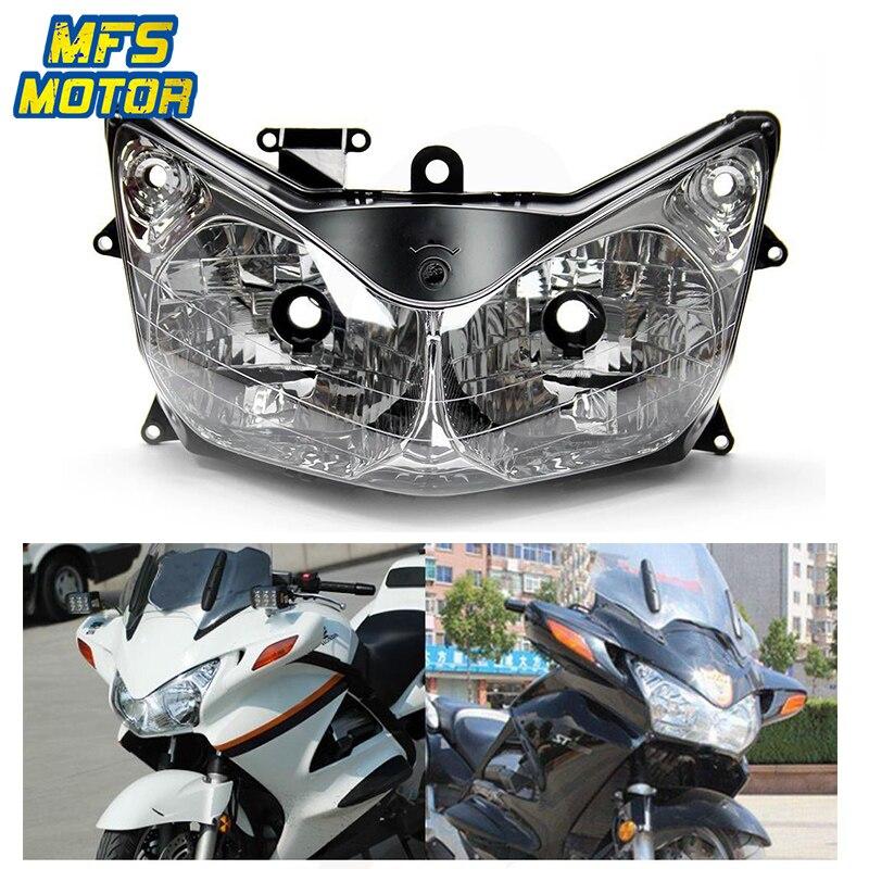Phare Pour 02-10 Honda ST1300 ST 1300 Moto Avant Lampe Supérieure Assemblée Phare Head Light Logement 2002 2003 2004-2010