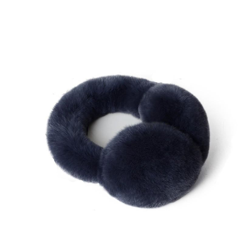 XINYAWEI Fashion New Earmuffs Imitation Winter Rabbit Fur Warm Ladies Mulit-Color Earmuffs Christmas Fur Gift Earmuffs.