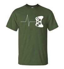 Cool gamer's heart controller shirt