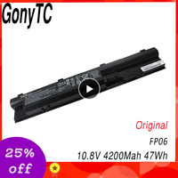 GONYTC Original Laptop Battery FP06 FP06XL For HP ProBook 440 450 445 470 455 G0 G1 Batteries HSTNN LB4J FP09 HSTNN IB6M