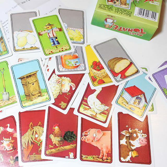 Alles tomate Board game 2-8 Players Family Game For Children With Parents    Funny Puzzle Game for Gift