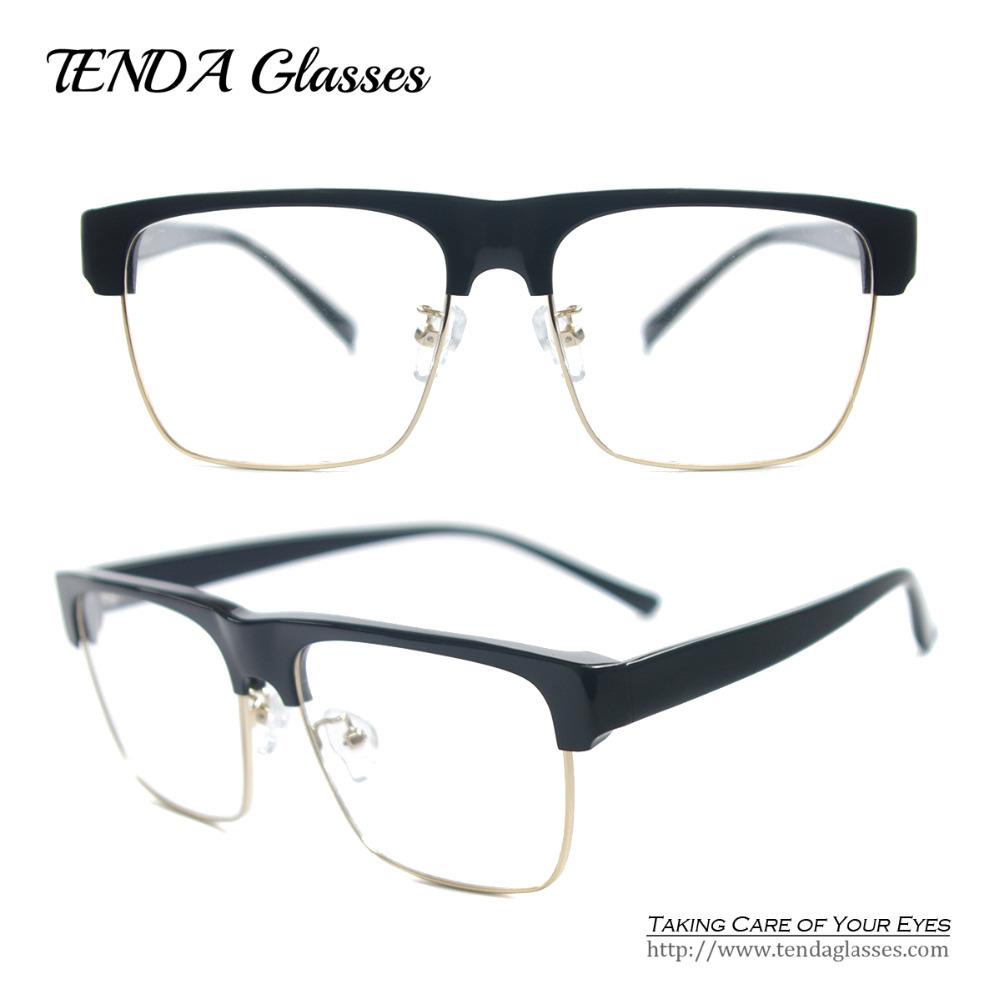 acetate vintage square glasses frames big frame prescription glasses retro eyeglasseschina mainland